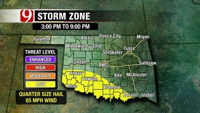 Next Storm System Bringing Rain To Oklahoma