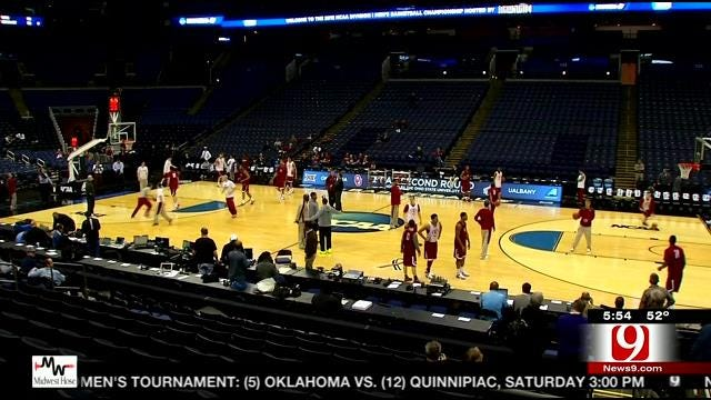 NCAA Tournament: OU and OSU Thursday Practice Reports