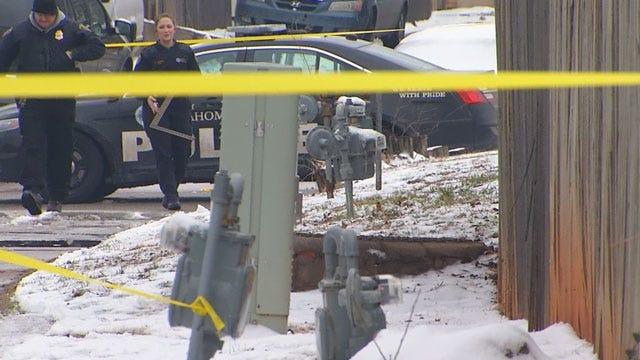 Man Dies After Being Found Beaten, Freezing In NW OKC Alley