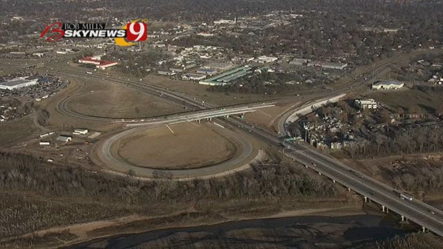 ODOT Project Reduces Speed Limit On I-35 At Lindsey St. In Norman
