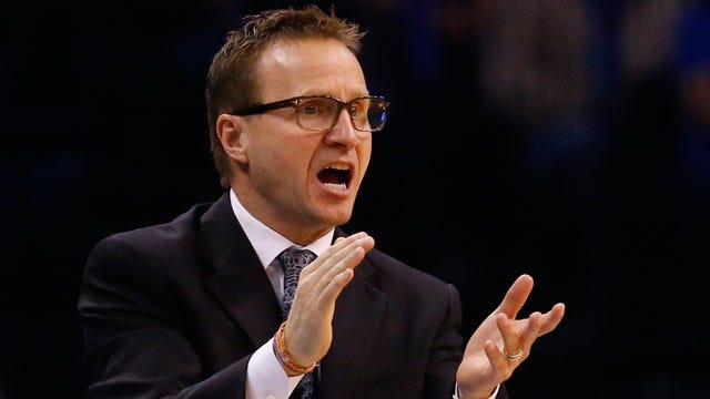 Scott Brooks Named Coach Of The Month