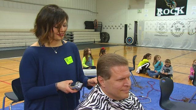 #SHAWforthecause: News 9 Reporter Tells Why He Shaved His Head