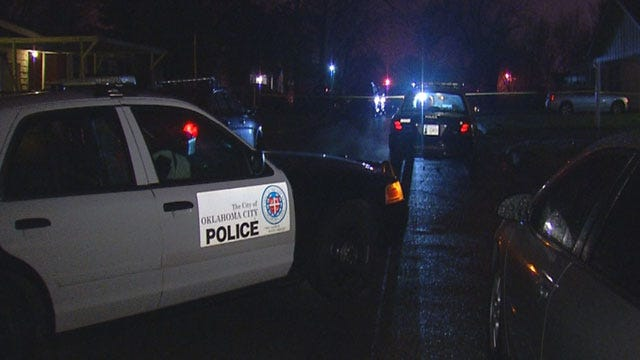 Police Investigate Reported Shooting, Stabbing In NW OKC