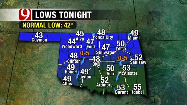 Spring-Like Forecast On Tap For Oklahoma