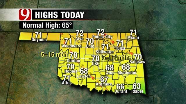 First Full Day Of Spring, It's Warming Up In Oklahoma