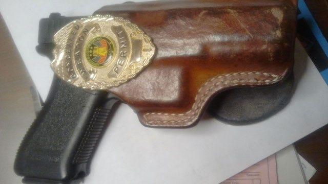 Thief Steals Retired Pottawatomie County Deputy's Badge, Gun