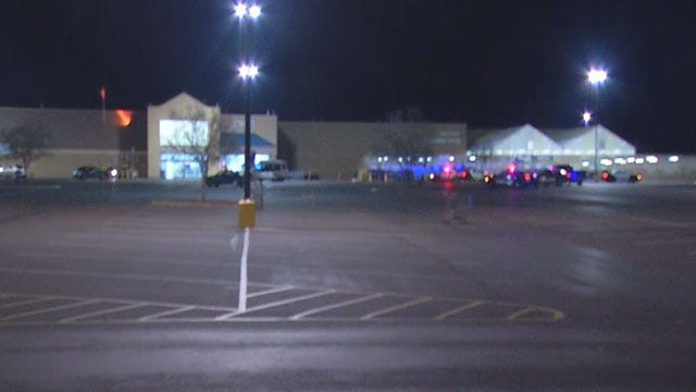 OKC Police Investigate Shots Fired In Wal-Mart Parking Lot