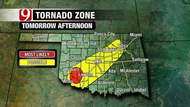 Oklahoma Bracing For First Severe Storm Of Spring