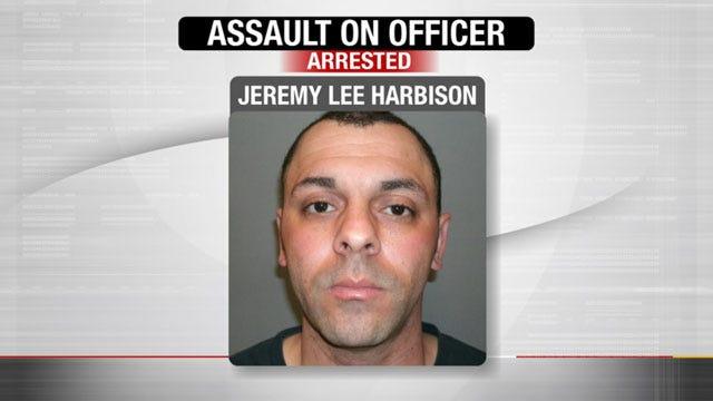 Noble Man Assaults Edmond Police Officer
