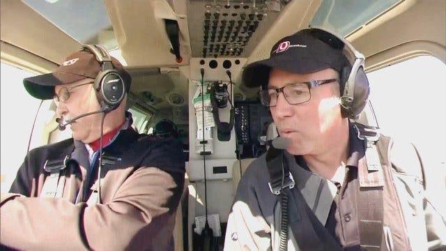SkyNews9 & David Payne Survey Moore Tornado Damage