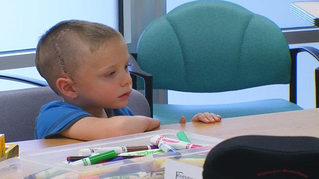 Oklahoma Boy Recovers From Fall That Left Him Partially Paralyzed, Unable To Speak