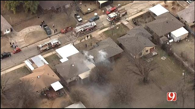 One Dead, One Injured In SW OKC House Fire