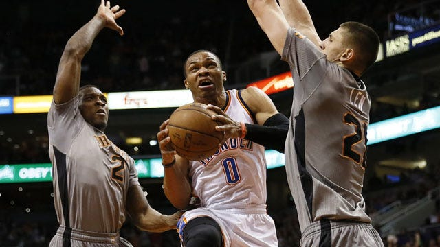 Report: Westbrook To Return Wednesday Against Sixers