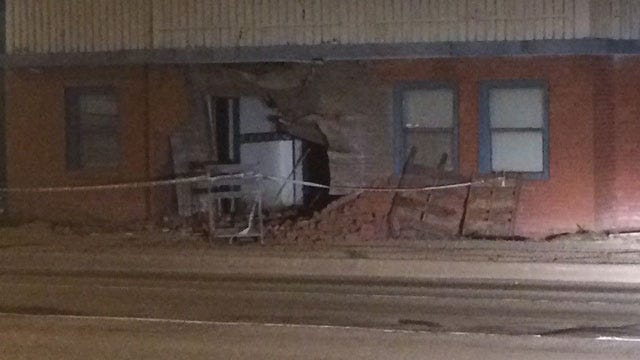Police: Man Drives Into OKC Building, Flees To Ex-Wife's Home
