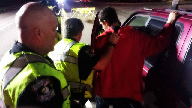 DUI Driver In Stolen SUV Arrested At OKC Checkpoint