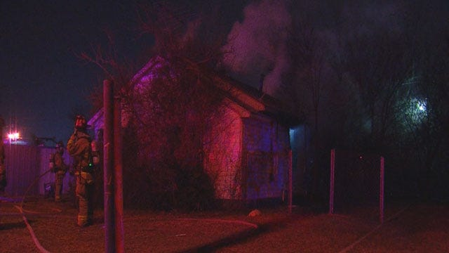 Crews Put Out Fire At OKC Vacant Home