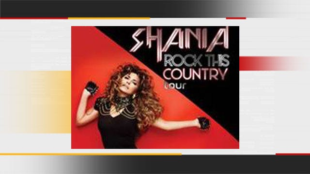 Shania Twain To Bring 'Rock This Country' Tour To OKC