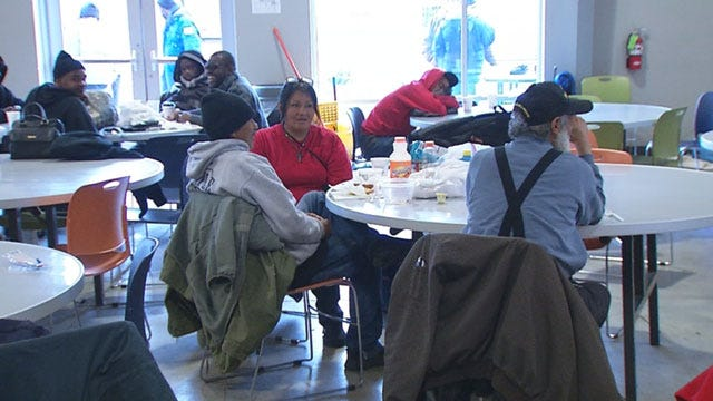 Winter Weather Puts Increased Strain On Metro Shelters