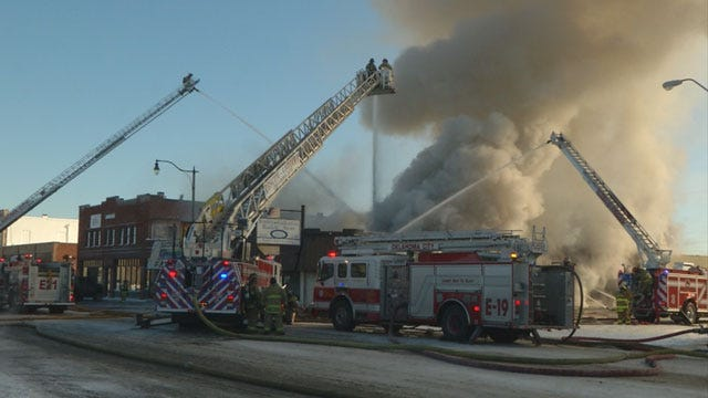 Businesses Destroyed After 4-Alarm Fire In Stockyards City