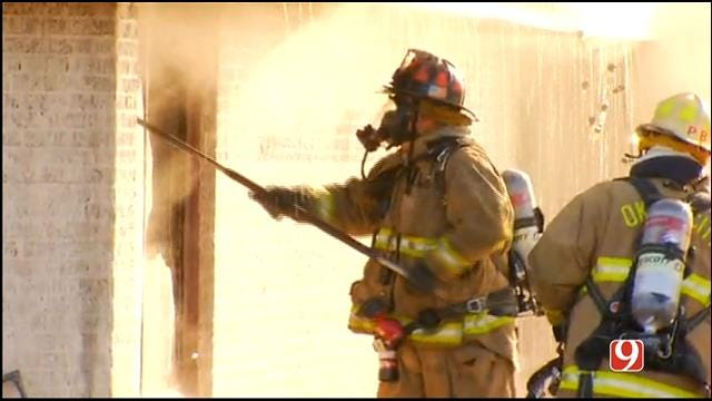 Crews Contain Large Commercial Fire In Stockyards City