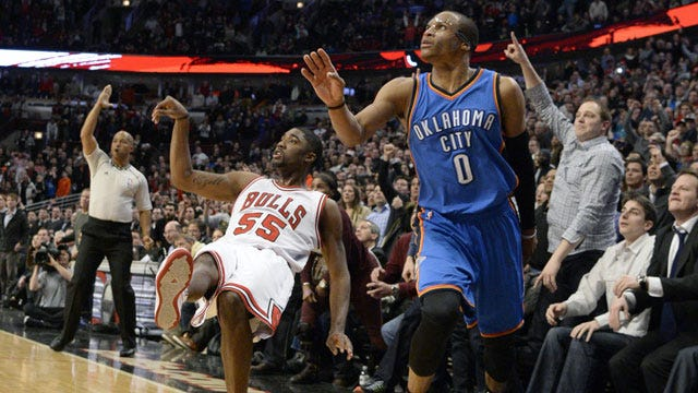 Lack Of Defense Dooms Thunder In Chicago