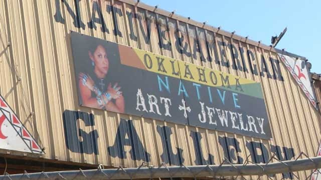 Stockyards City Fire Destroys Native Art Gallery, Owner Plans To Rebuild