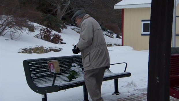 Strangers Clear Snow So Elderly Man Can Reach Wife's Memorial