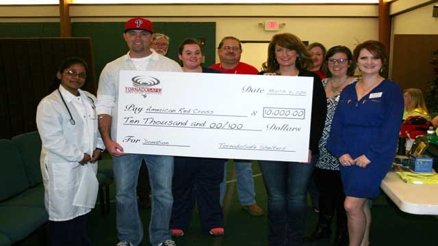 TornadoSafe Shelters Donates To Oklahoma American Red Cross