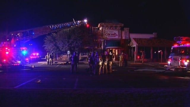 Fire Guts Restaurant In Northwest Oklahoma City