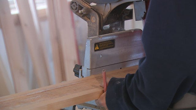 Home For Oklahoma Wounded Warrior Nearing Completion