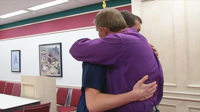 OKC Bombing Survivor, Hero Share Emotional Reunion
