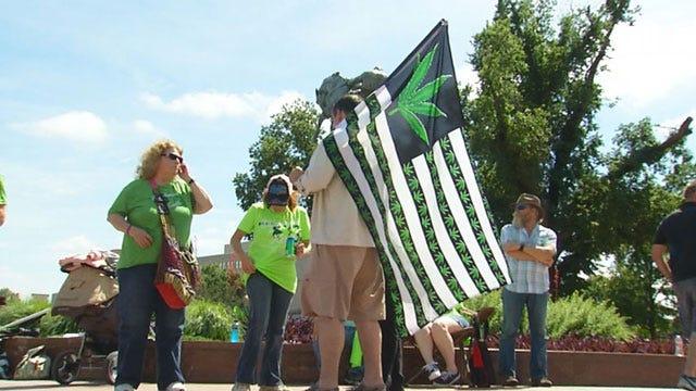 Oklahomans Rally For Medical Marijuana Initiative