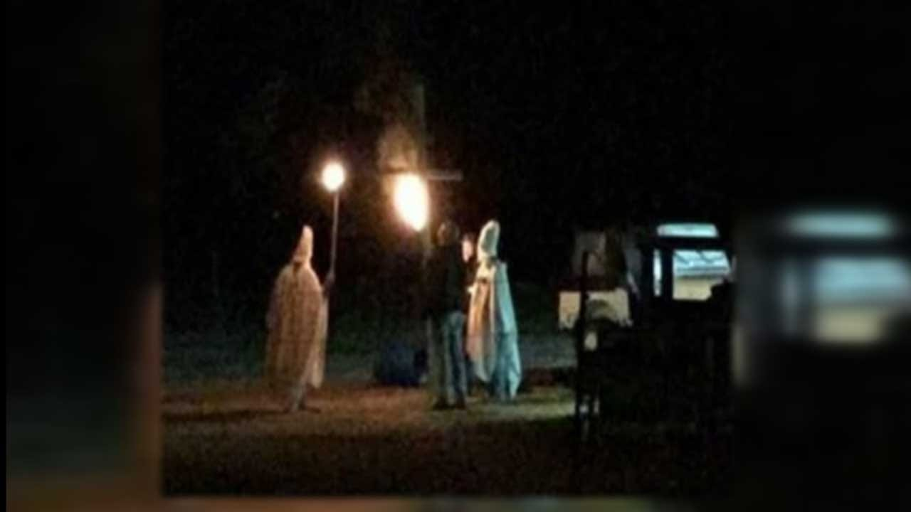 Disturbing Halloween KKK 'Prank' Has Lahoma Residents Upset