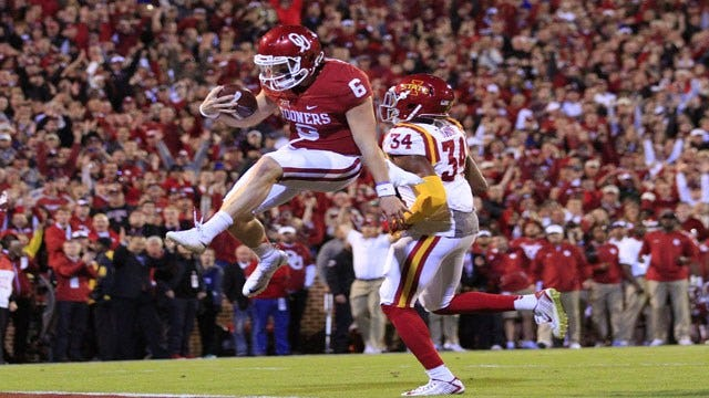 OU's Mayfield Named Nominee For Burlsworth Trophy