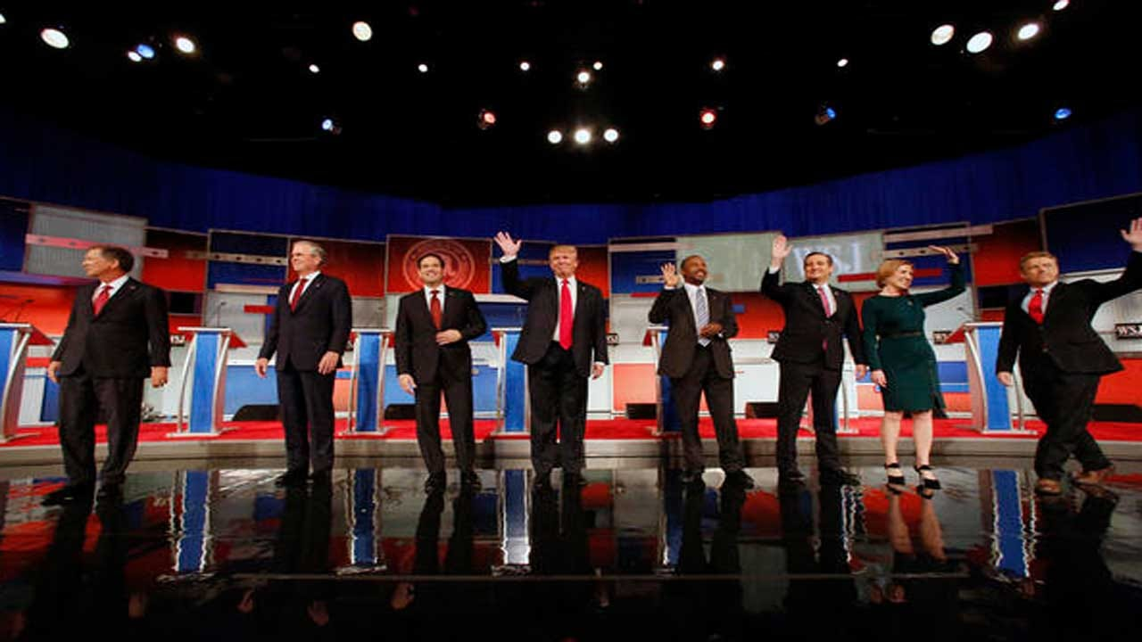 Republicans Talk Taxes, Budget In Fourth Debate