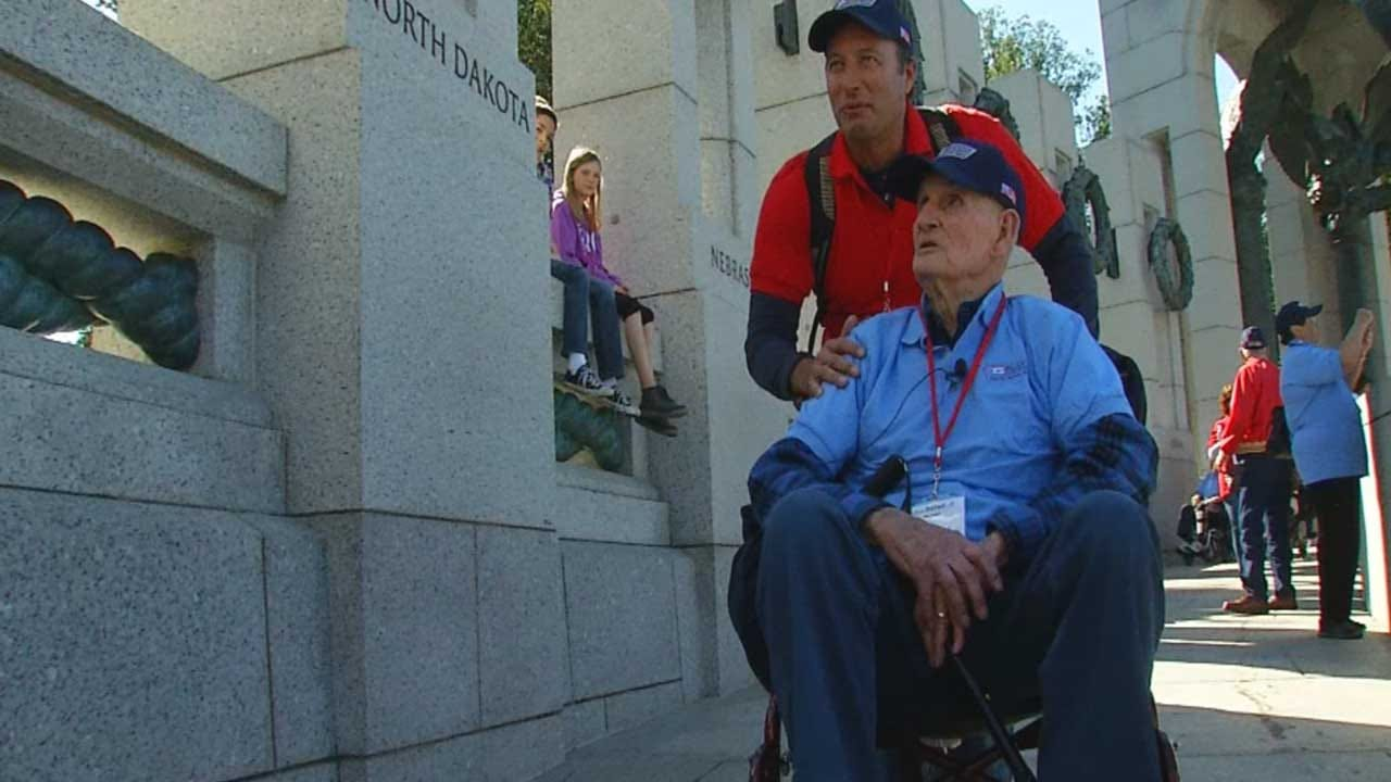 Oklahoma Veterans Honored On Final Mission To Washington, DC