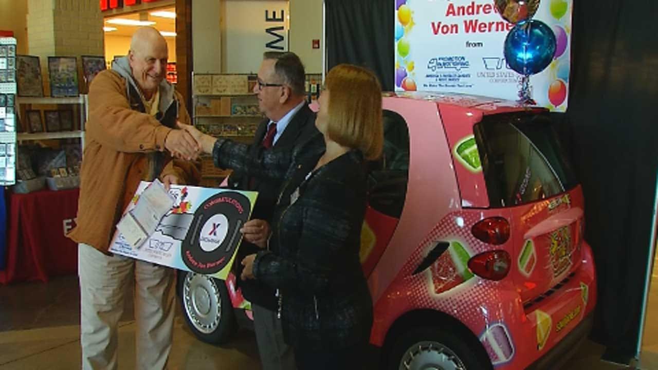 El Reno Veteran Wins Nationwide Drawing For Free Car