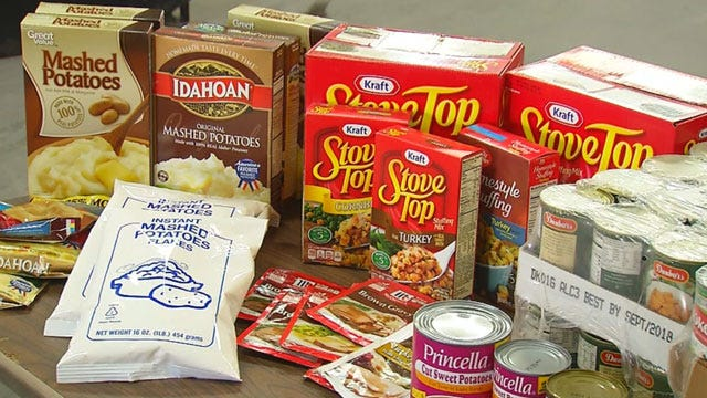 Jesus House Collecting Donations For Thanksgiving Food Baskets