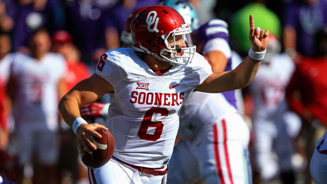 Mayfield Named Big 12 Offensive Player Of The Week