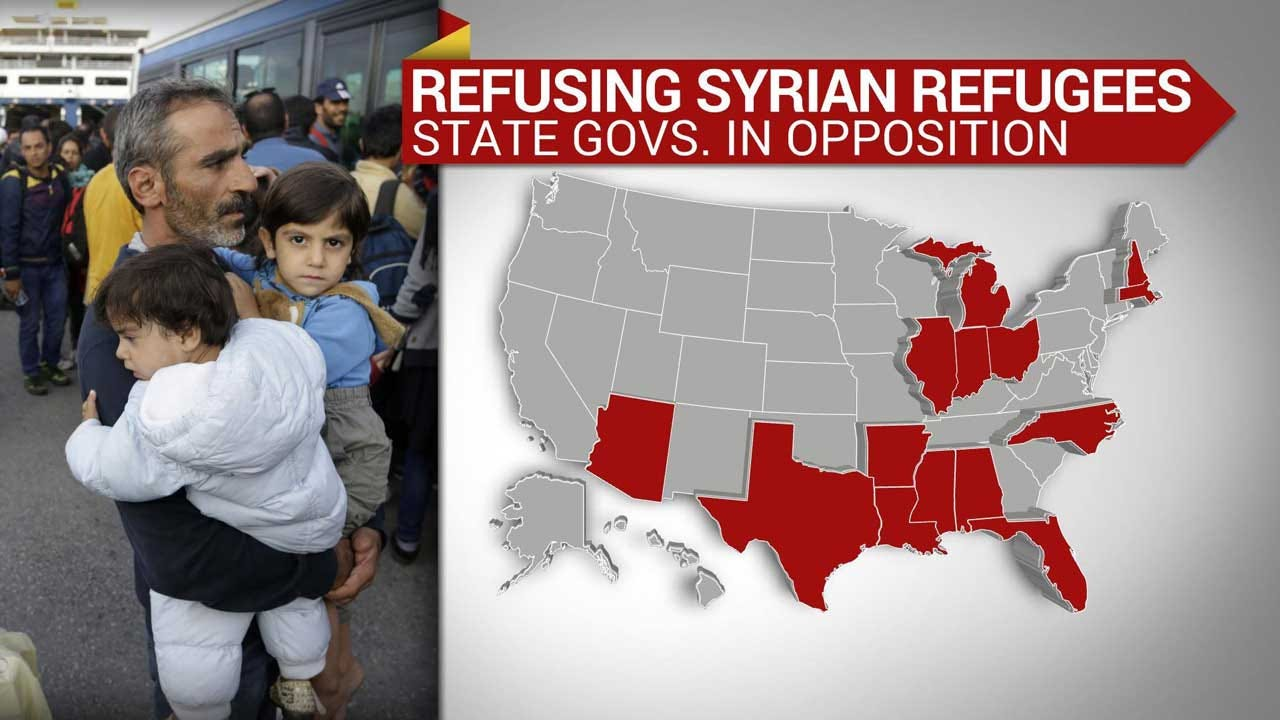 More States Say No To Syrian Refugees After Paris Attacks