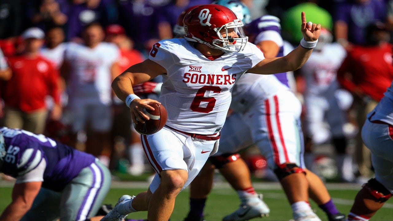 Baker Mayfield Named Big 12 Offensive Player of the Week