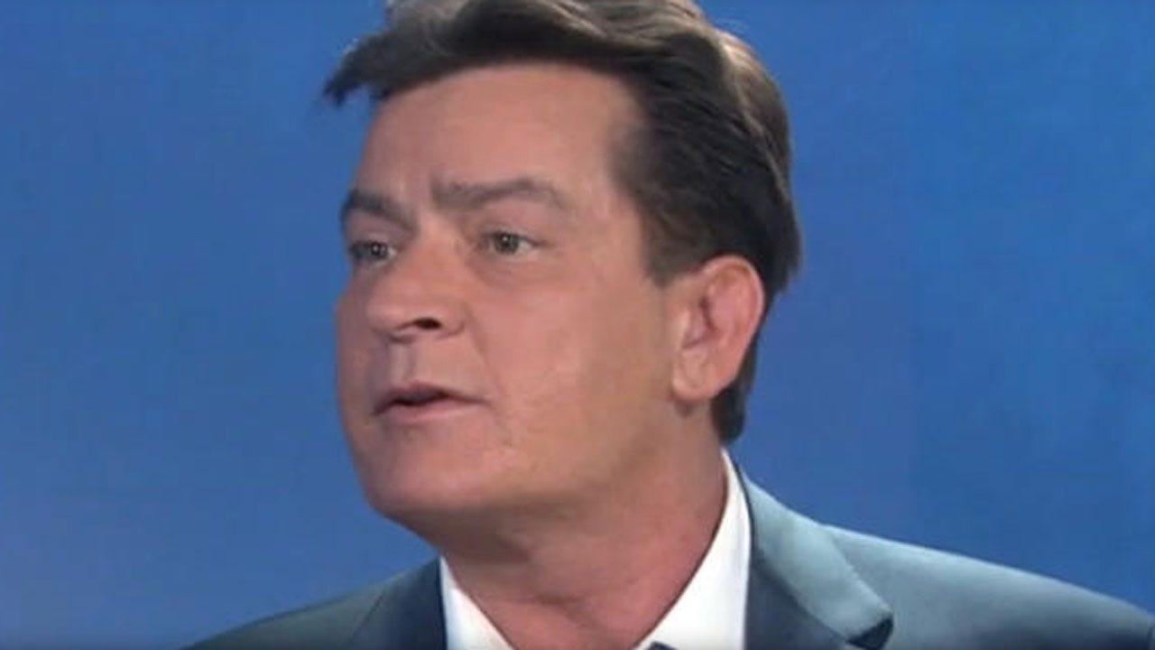 Charlie Sheen Says He's HIV-Positive