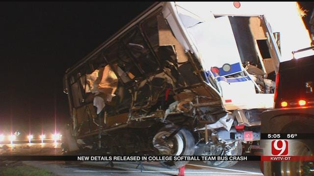 New Details Released In College Softball Team Bus Crash
