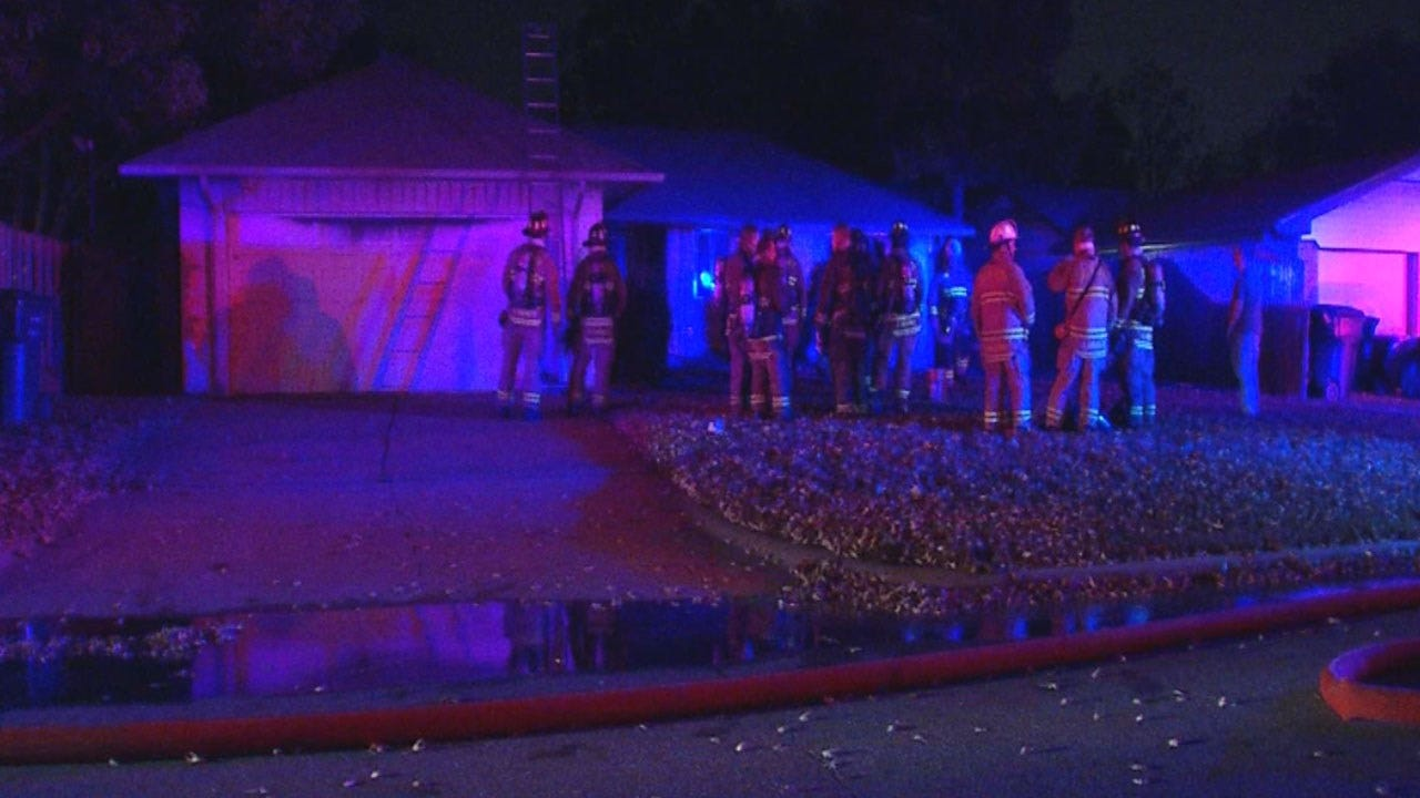 NW OKC House Damaged In Fire