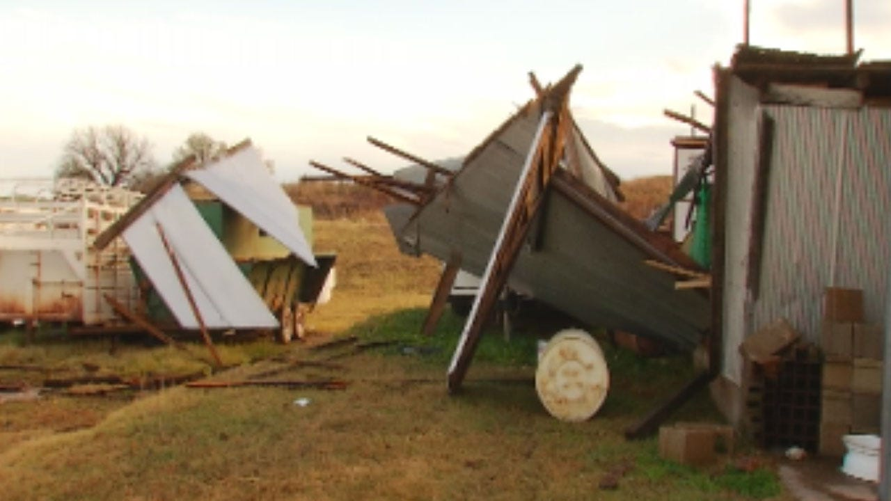 Perry Resident Speaks To News 9 About Storm Damage