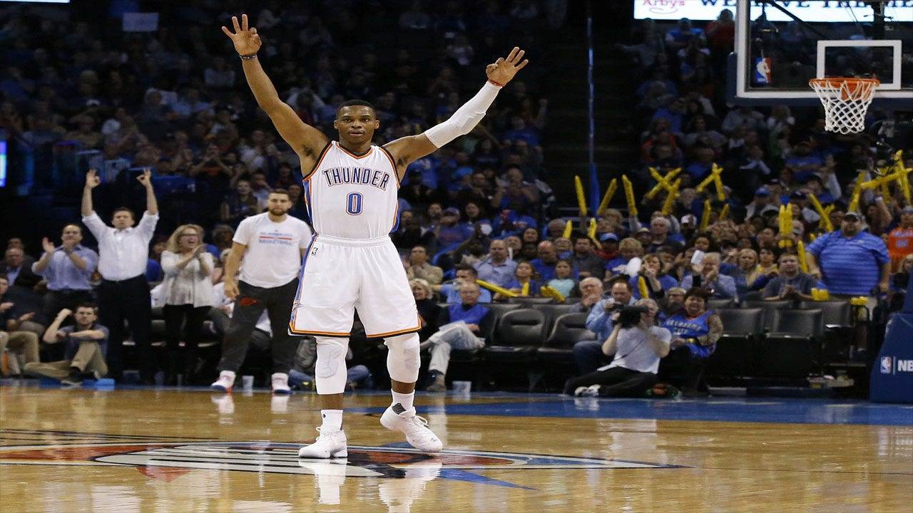 Westbrook Drops 43 As Thunder Sneak Past Pelicans