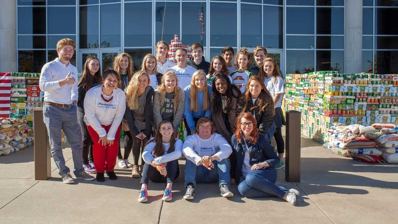 Bishop McGuiness High School Wins 'Students Against Hunger' Drive