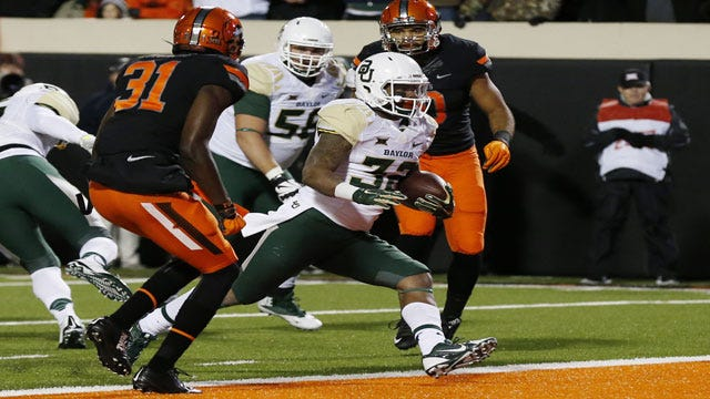 Party Like It's 1939: Baylor Stuns OSU For First Stillwater Win In 76 Years