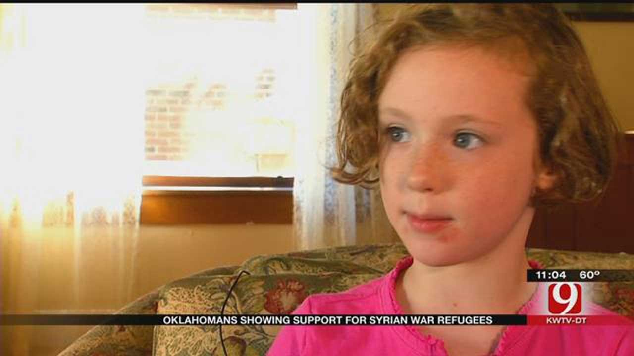 Young Girl's Letter To Gov. Fallin Requests Help For Syrian Refugees