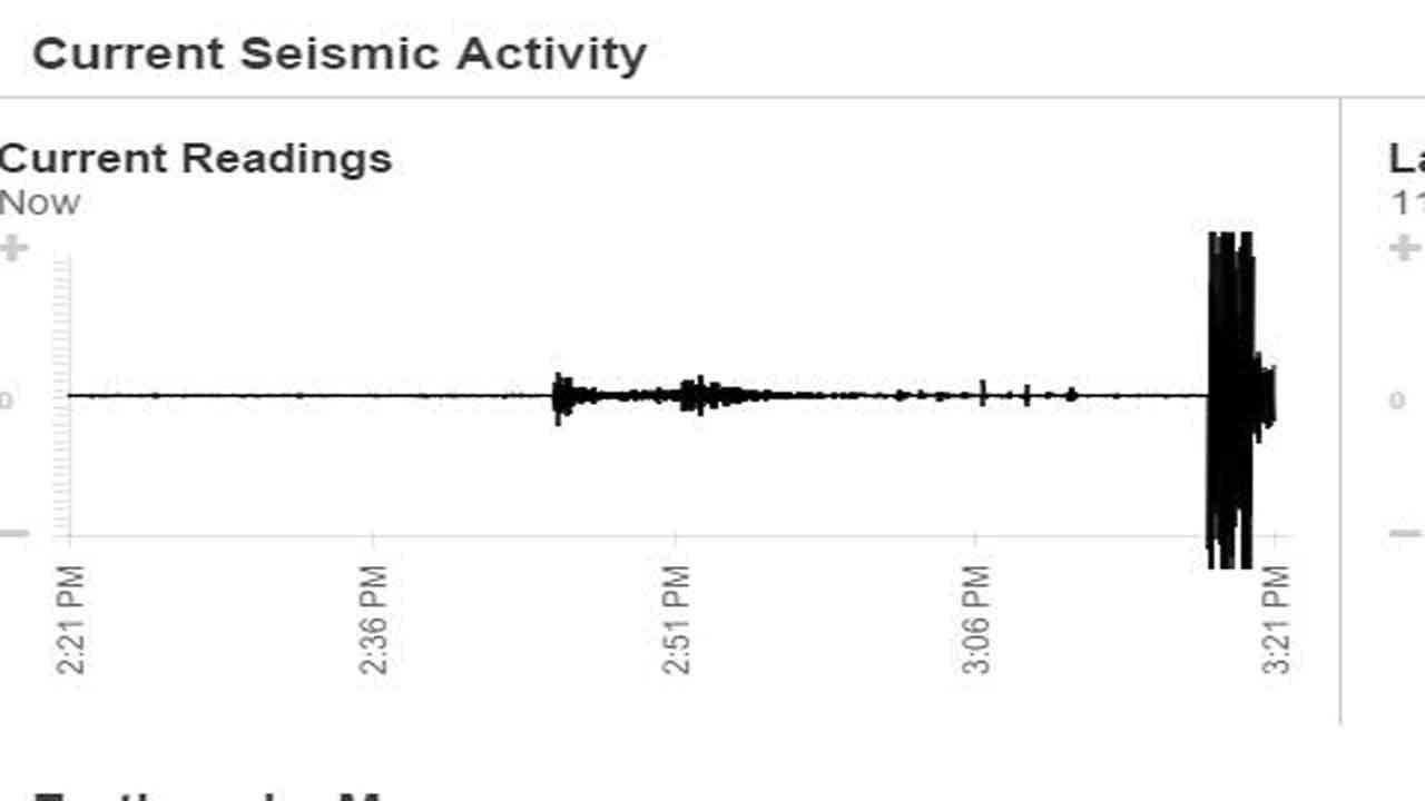 4.4 Magnitude Earthquake Strikes Near Cherokee